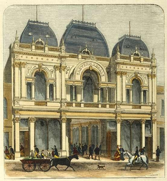 Eastern Arcade, Bourke Street