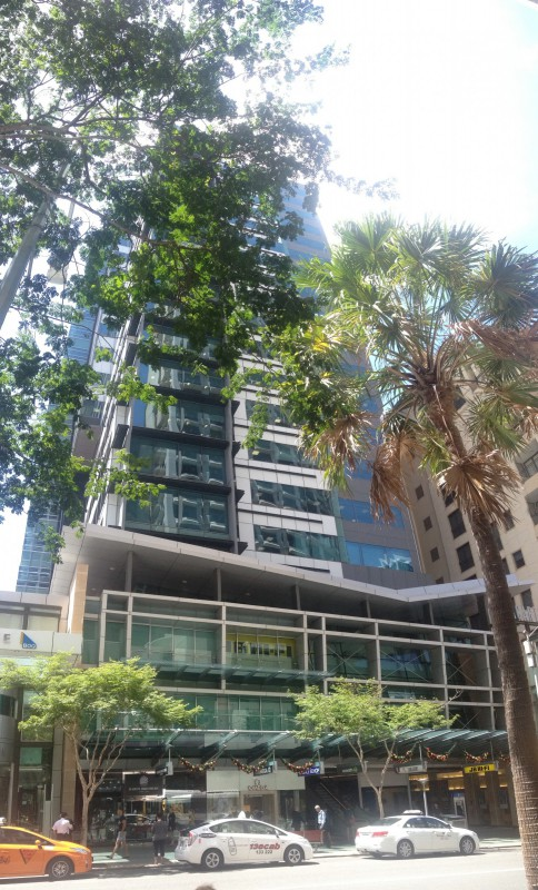 Macarthur Central, 255 Queen Street Brisbane. Site of the Royal Exhibition Arcade. Nicole Davis, 2014.
