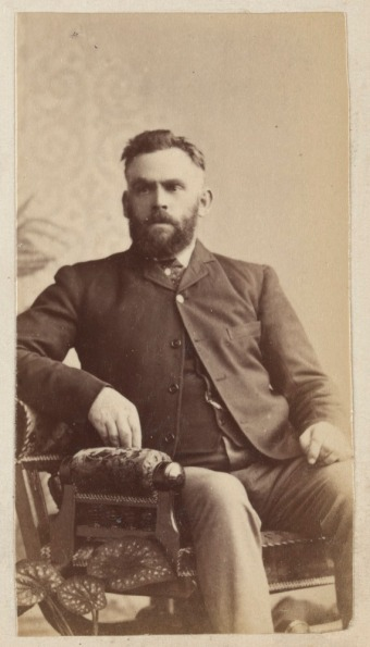 E. Gaunt, Album of security identity portraits of members of the Victorian Court, Centennial International Exhibition, Melbourne, 1888. State Library Victoria. H28190/256