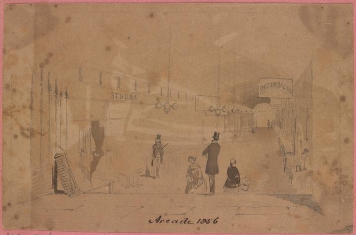 Queens Arcade Melbourne