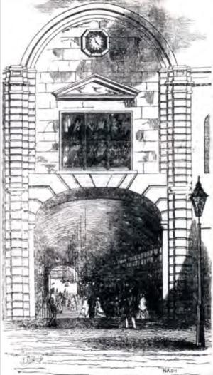 Queens Arcade, Melbourne, Illustrated Melbourne Post, 29 October 1853, p4.